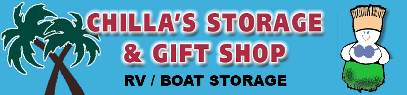 Chilla's Storage & Gift Shop in Port Aransas, Texas.